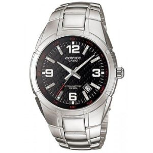Мужские часы Casio edifice black steel 11